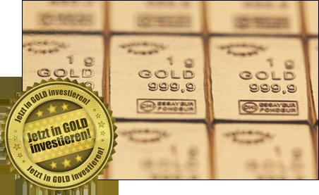 Jetzt in Gold investieren